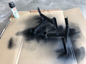 Painting jack stands